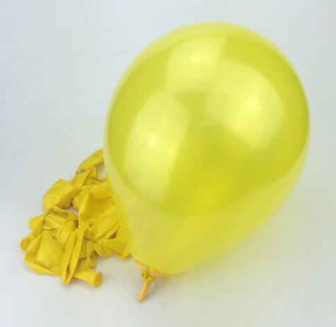 Balons - dzeltena - 25 cm