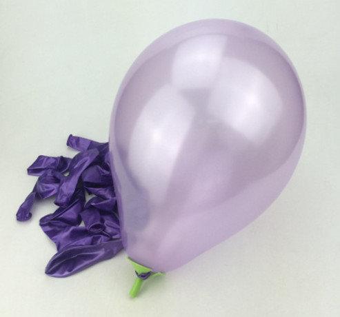 Balons - gaiši violets - 25 cm