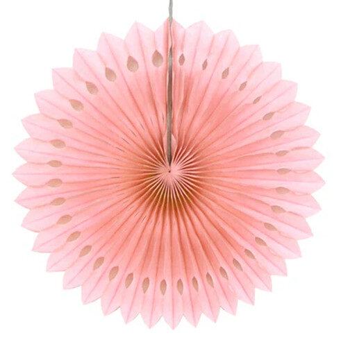 Atvērams papīra svētku dekors - rozete - 20 cm, laškrāsa