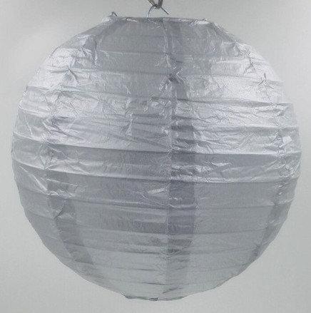 Lanterns silver 20 cm