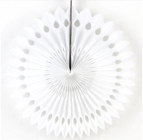 Decorations 20 cm, white