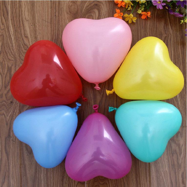 Baloni sirdsveida mazie 10 gab