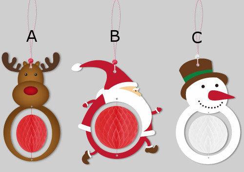 Papīra bumbas - ziemassvētku dekors