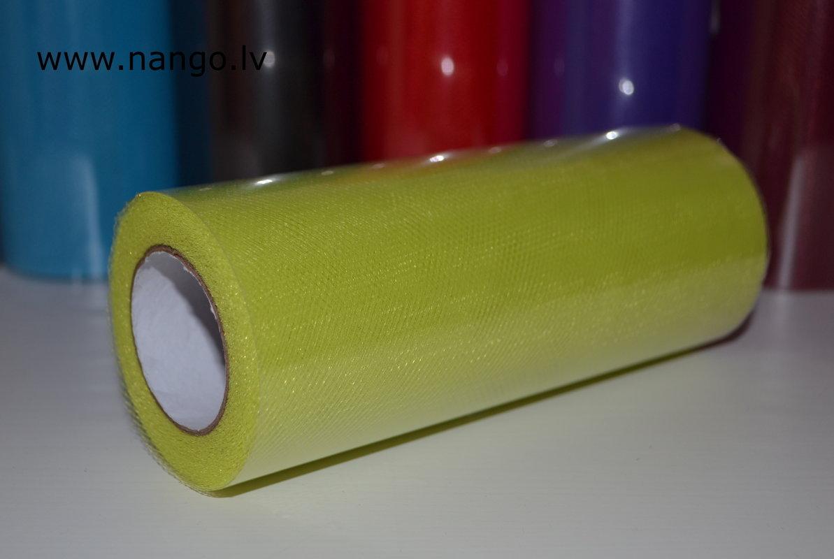 Tills ruļļos 22m x 15cm spilgti zaļš
