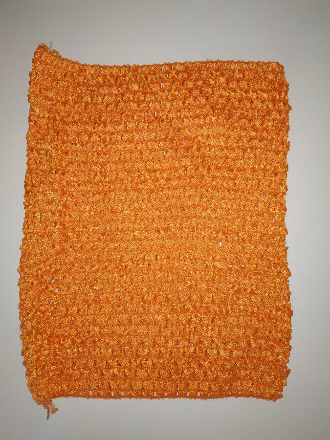 Gumija bērnu Tutu svārkiem, oranža