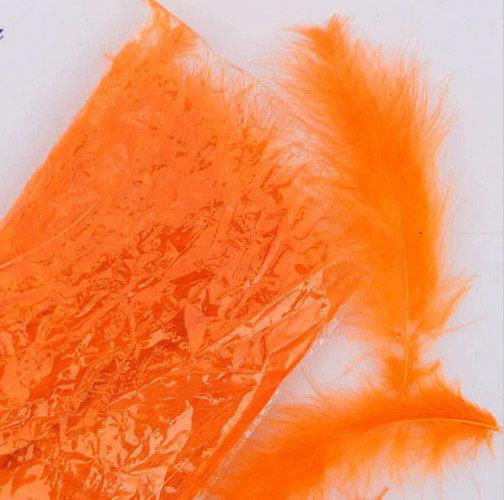 Dekors spalvas, oranžas 25 gab