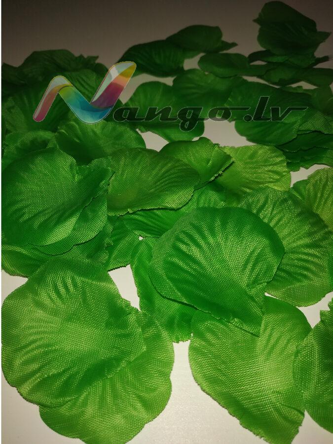 Лепестки роз, зеленый, 100 шт.