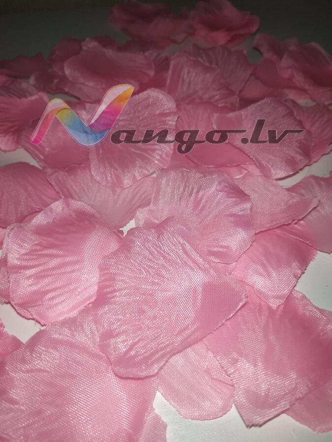 Лепестки роз, розовый, 100 шт.