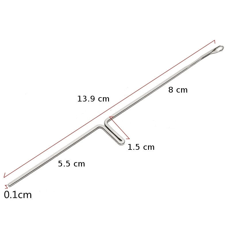 Knitting machine needle, lenght 13,9 cm
