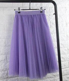 Tilla svārki, plisēti - violeti