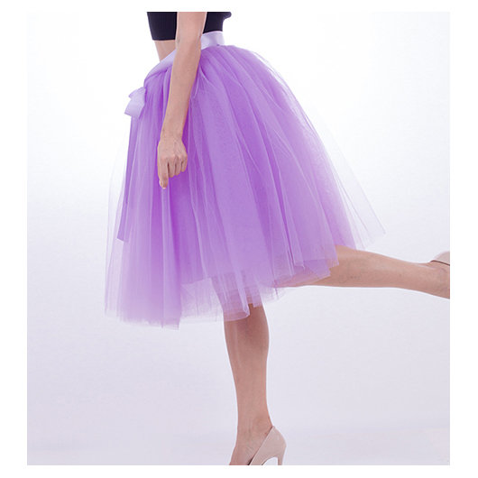 Tulle skirt, light purple