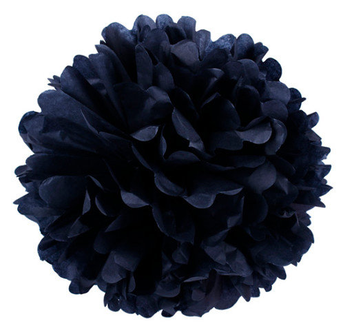 Pompons 15 см 20 cm - black