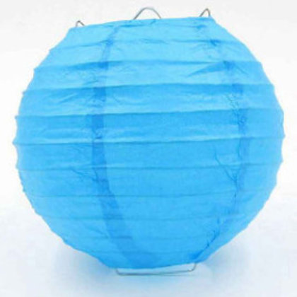 Lanterns like blue 25 cm