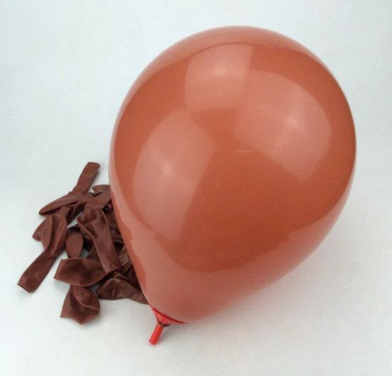 Balons - šokolāde - 25 cm