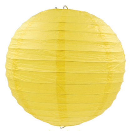 Lanterns yellow 20 cm