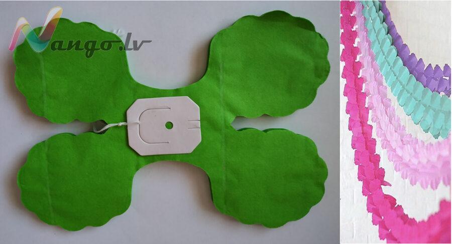 Гирляндa декор светло-зеленый 3,65 метра