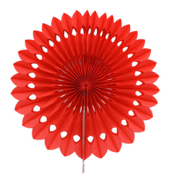 Decorations 20 cm, red