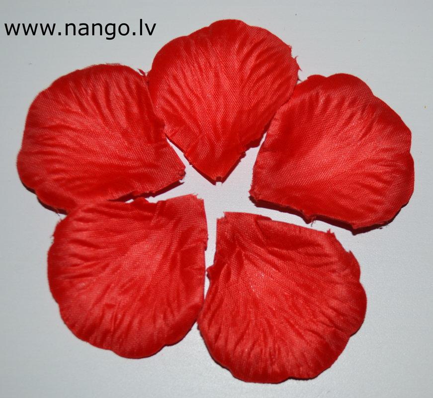 Rožlapiņas, sarkana, 100 gab