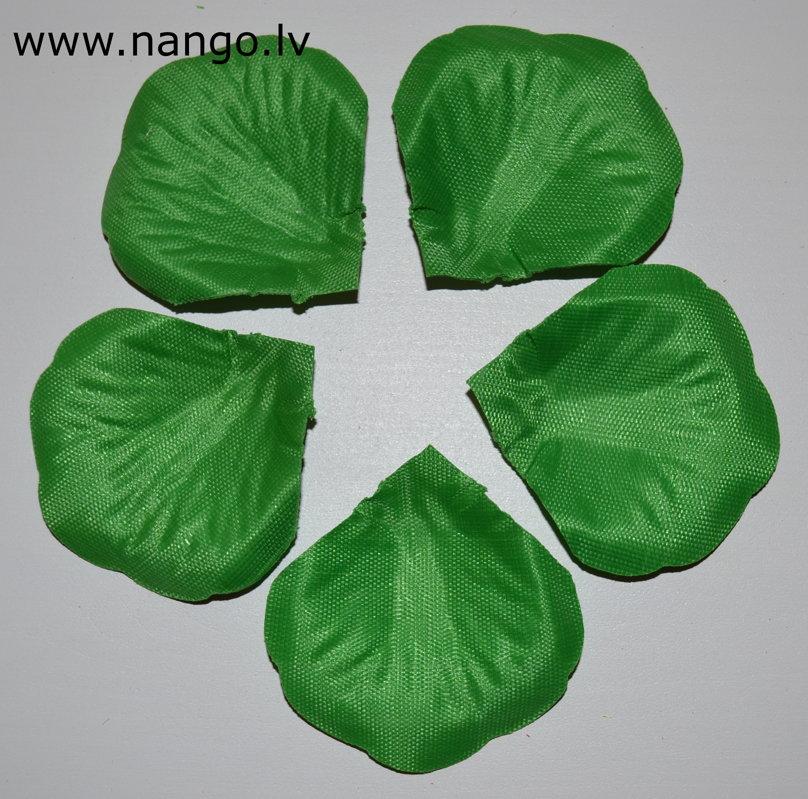 Rožlapiņas, zaļa, 100 gab