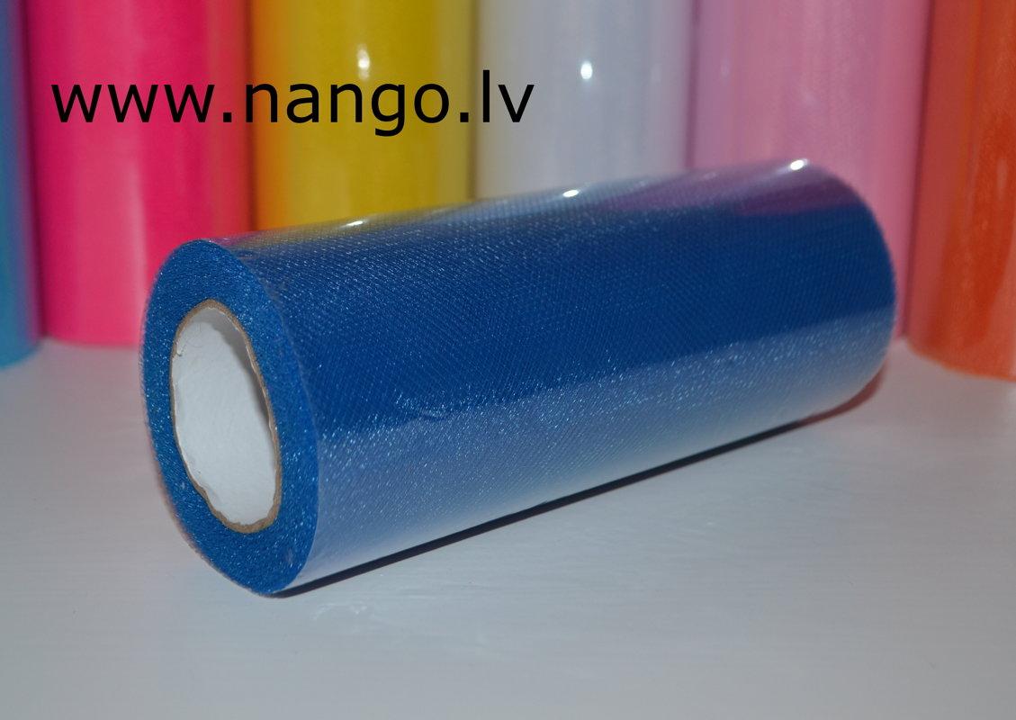 Tills ruļļos 22m x 15cm tumši zils