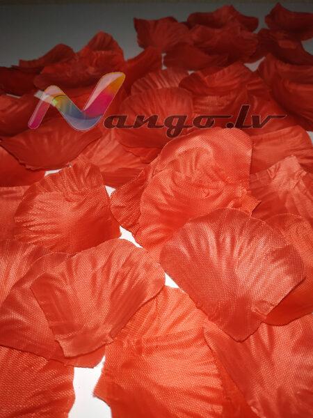 Roze petals, red, 100 pc