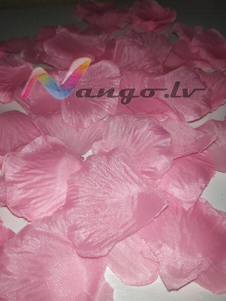 Roze petals, pink, 100 pc