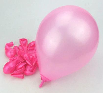 Balloon, pink 25 cm