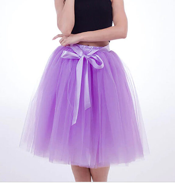 Tilla svārki, gaiši violeti