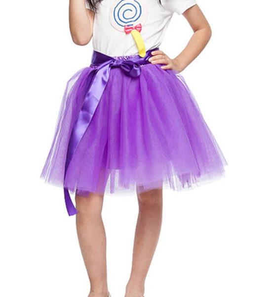 Tilla svārki bērnu violeti