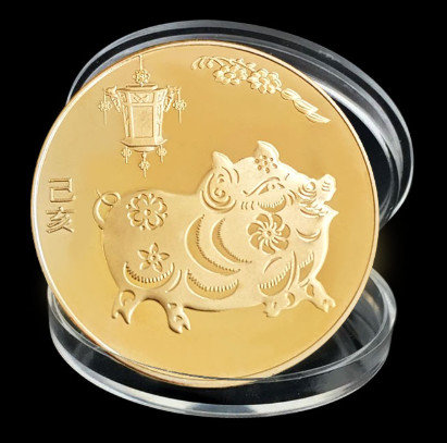Souvenir Coin - Year of the Pig 2019