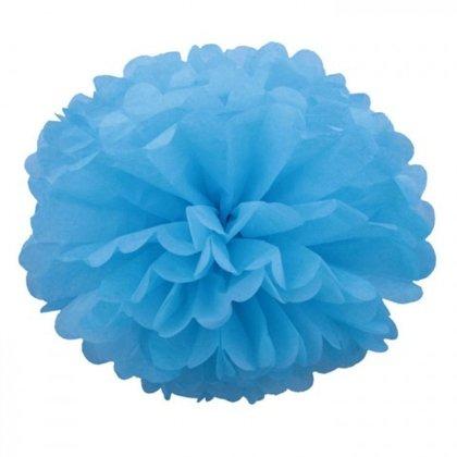 Pompons - 10 cm 15 cm 20 cm - light blue 2