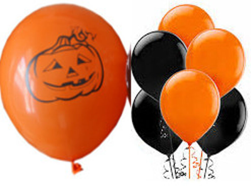 Baloni Helovīna komplekts 7 gab