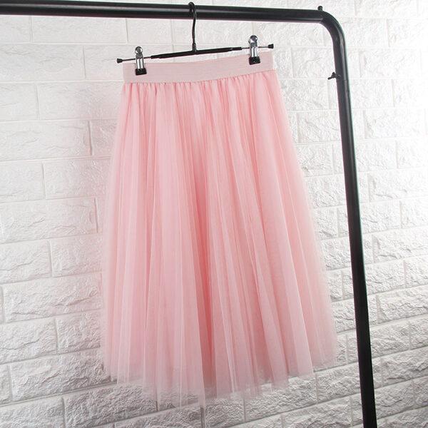 Tulle skirt, roze