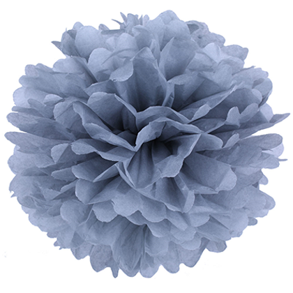 Pompons - 20 cm - grey
