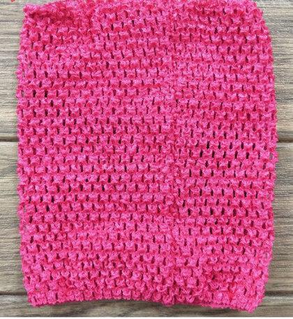 Gumija bērnu Tutu svārkiem, rozā