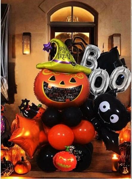 Baloni Helovīna komplekts 21 gab