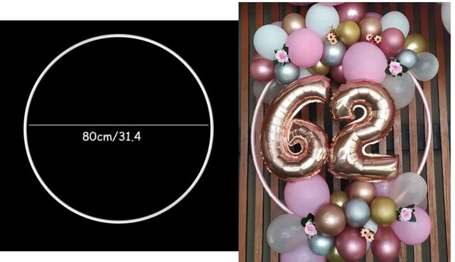 Stand for balloons, circle dia. 80 cm