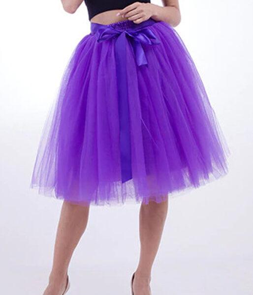 Tulle skirt, purple