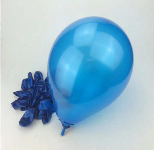 Balloon, blue 25 cm