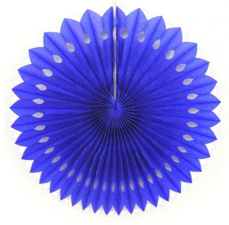 Decorations 20 cm, blue